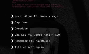 Masterkraft – Never Alone ft. Waje & Nosa