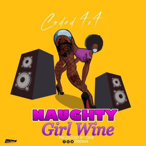 Coded (4×4) – Naughty Girl Wine